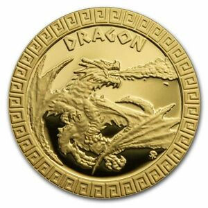 2020 Niue 1/10 oz Gold Proof Mythical Creatures: Dragon - SKU#209442