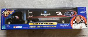 DALE EARNHARDT SR GOODWRENCH #3 DIECAST COLLLECTOR TRAILER RIG NASCAR