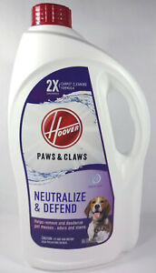 Hoover Paws And Claws Neutralize And Defend Carpet Cleaner Shampoo (64 fl oz)