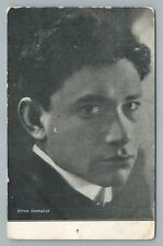 Efrem Zimbalist—Jewish Violinist—Antique Russian Music Postcard Judaica <1908