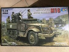 Trumpeter M16 Multiple Gun Motor Carriage Half Track 1/16 scale