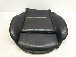 04-06 BMW 325ci E46 COUPE FRONT LEFT LH DRIVER SEAT BOTTOM CUSHION BLACK 470 OEM