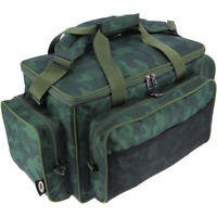 NEU XL Angeltasche Carryall mit Isolierung Camouflage 56x29x32cm NGT Karpfen