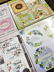 The Paper Boutique Die-Cut Topper Paper Assorted 45 sheets Mix Designs