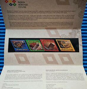 2015 Singapore Presentation Pk Indian Heritage Centre Commemorative Stamp Issue