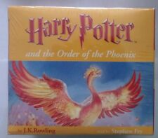 HARRY POTTER AND THE ORDER OF THE PHOENIX  COMPLETE (AUDIO CASSETTES) SEALED