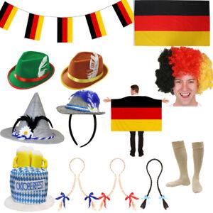GERMAN OKTOBERFEST BEER FESTIVAL ACCESSORIES FANCY DRESS BAVARIAN GERMANY LOT