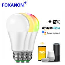 E27 B22 LED WiFi Smart Ligting LED Light Bulb RGB Controlled Alexa Compatible