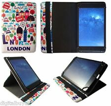 Universal 360 Rotating Wallet Case Cover Folio for Various 7 - 8 inch Tablet