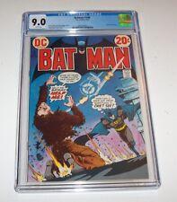 Batman #248 - DC 1973 Bronze Age Issue - CGC VF/NM 9.0 - (Colonel Sulphur)