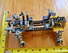 LEGO Technic Solid 4WD Chassis + Front Steering + Rear Differential - new parts