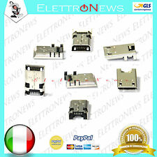 Connettore ricarica Micro usb Plug-in Asus Pad K013 K00E K00F K001 Pad 8 ME180A