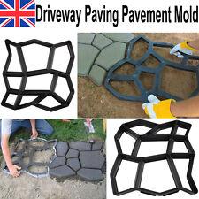 Garden Walk Maker Paving Mould for Driveway Path Brick Patio Concrete Slabs UK