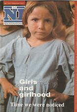 NEW INTERNATIONALIST Magazine February 1993 - Girls And Girlhood