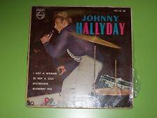 "JOHNNY HALLYDAY E.P ESPAGNOL "" JOHNNY A NEW YORK "" variante 2"