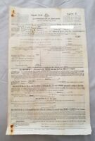 1948 Land Tax Form - Commonwealth of Australia