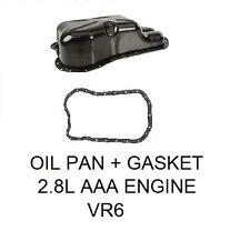 OIL PAN, OIL PAN GASKET KIT;  VW JETTA GOLF PASSAT, 2.8 VR6, AAA ENGINES VR6 FIT