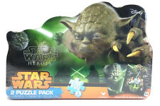 Yoda Star Wars Heroes 2 Puzzle Pack W/ Collectible Tin 100 Piece Disney