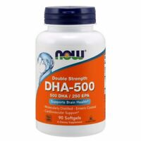 DHA-500 Double Strength 90 Softgels  by Now Foods