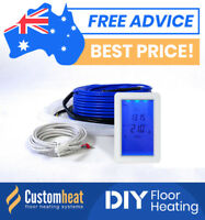 In Slab Floor Heating Kits DIY All Sizes -Electric Underfloor floorheating 2