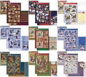 New Hunkydory The Joy of Christmas Deco Large Card Kit Inserts Toppers 2021