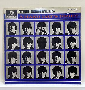 THE BEATLES A HARD DAYS NIGHT 1964 VINYL STEREO