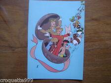 Carte postale Trésors Journal de Spirou FRANQUIN 5 Couv 21e album