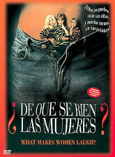 De Que Se Rien Las Mujeres (What Makes Women Laugh?), New DVD, Carmen Balagué, Y