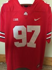 NWT Ohio State Nick Bosa Jersey Scarlet Free Shipping