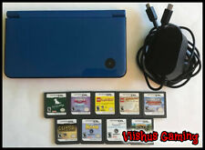 Nintendo DSi XL Midnight Blue With 9 Games & Charger UTL-001