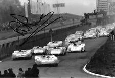 Brian Redman SIGNED   Porsche 908/02  , Nurburgring 1000 km  1969