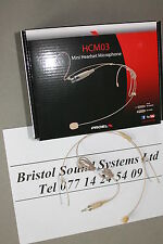 PROEL hcm03se Beige HEADSET MICROFONO: 3.5 mm mini-jack per sennheiser-akg-shure