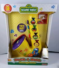 Sesame Street 1999 Rock and Roll Saxophone NIB