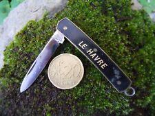 """Ancien couteau de poche  pliant canif  """" Le Havre """""""