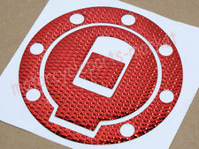 Red Fuel Gas Cap Cover Pad Sticker For Yamaha YZF R1 1998-1999 YZF R6 1999-2000