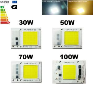 Smart IC CHIP LED CON DRIVER 220V INTEGRATO 30W/50W/70W/100W RICAMBIO FARO A LED