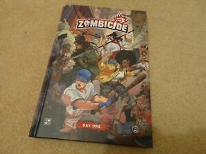 Zombicide board game -  CMON graphic comic book with exclusive short stories