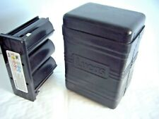 Exide type Lucas battery case with a 6 V 8ah Cyclon battery inside