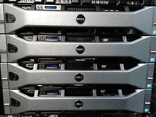 "Dell R710, 2 * E5645 2.4 ghz 6 core cpu, 96GB ram, raid, rack rails 2.5"" baies"