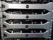 """Dell R710, 2* E5645 2.4 Ghz 6 Core CPUs, 96GB RAM, Raid, Rack Rails 2.5"""" bays"""