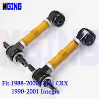 Rear Camber ARM Kit For 88-00 89 91 92 93 CRX Civic 90-01 Civic EG EK INTEGRA