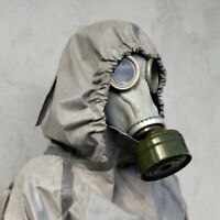 Soviet Russian military Gas mask GP-5 GREY rubber FULL set ALL Size