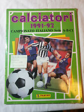 ALBUM PANINI CALCIATORI 1992 1993 GAZZETTA RISTAMPA NEW