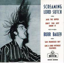 SCREAMING LORD SUTCH - Re-issue of RARE Spanish EP - (Rockabilly) JOE MEEK RGM