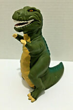 Vintage Land Before Time Sharptooth Dinosaur Plastic Hand Puppet Pizza Hut 1988