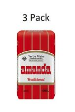 Amanda Yerba Mate Compacta 1 kilo | 3 Pack