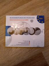 10 Euro BRD Gedenkmünzenset 2004 Silber Spiegelglanz PP