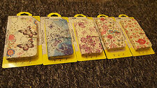 Butterfly glitter wallet pu leather case for Samsung Galaxy & Apple iPhones