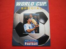 THE PEOPLE WORLD CUP SPECIAL SOUVENIR PRINTED IN 1989 FOR THE 1990 WORLD CUP