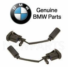 For BMW E70 E82 E88 F25 Set of 2 Front Heated Windshield Washer Nozzles Genuine